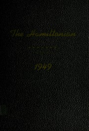 1949 Edition, Hamilton High School - Hamiltonian Yearbook (South Hamilton, MA)
