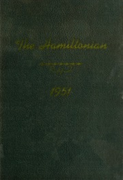 1951 Edition, Hamilton High School - Hamiltonian Yearbook (South Hamilton, MA)