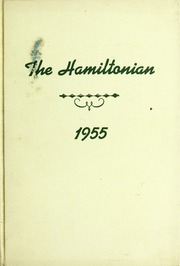 1955 Edition, Hamilton High School - Hamiltonian Yearbook (South Hamilton, MA)
