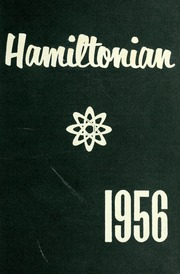 1956 Edition, Hamilton High School - Hamiltonian Yearbook (South Hamilton, MA)