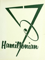 1957 Edition, Hamilton High School - Hamiltonian Yearbook (South Hamilton, MA)