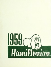 1959 Edition, Hamilton High School - Hamiltonian Yearbook (South Hamilton, MA)