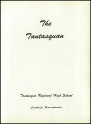 Page 5, 1959 Edition, Tantasqua Regional High School - Tantasquan Yearbook (Sturbridge, MA) online yearbook collection