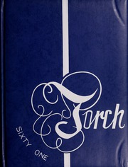 1961 Edition, Tenney High School - Torch Yearbook (Methuen, MA)