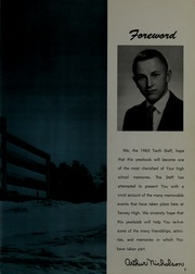 Page 7, 1963 Edition, Tenney High School - Torch Yearbook (Methuen, MA) online yearbook collection