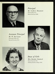 Page 11, 1966 Edition, Tenney High School - Torch Yearbook (Methuen, MA) online yearbook collection