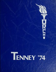 1974 Edition, Tenney High School - Torch Yearbook (Methuen, MA)