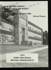 Page 5, 1975 Edition, Tenney High School - Torch Yearbook (Methuen, MA) online yearbook collection