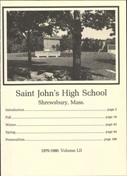 Page 5, 1980 Edition, St Johns High School - Yearbook (Shrewsbury, MA) online yearbook collection