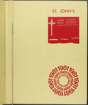 1981 Edition, St Johns High School - Yearbook (Shrewsbury, MA)