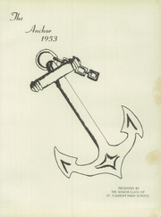 Page 5, 1953 Edition, St Clement High School - Anchor Yearbook (Medford, MA) online yearbook collection