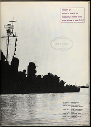 Page 3, 1955 Edition, John Hood (DD 655) - Naval Cruise Book online yearbook collection