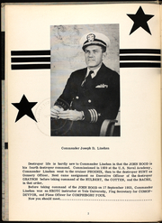 Page 6, 1955 Edition, John Hood (DD 655) - Naval Cruise Book online yearbook collection