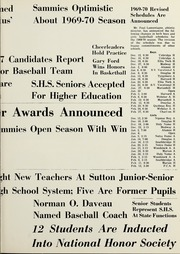 Page 17, 1970 Edition, Sutton Memorial High School - Exitus Yearbook (Sutton, MA) online yearbook collection
