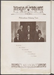 Page 26, 1914 Edition, Mississippi College - Tribesman Yearbook (Clinton, MS) online yearbook collection