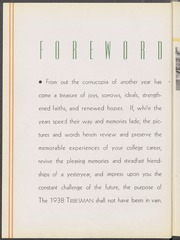 Page 10, 1938 Edition, Mississippi College - Tribesman Yearbook (Clinton, MS) online yearbook collection