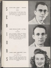 Page 17, 1946 Edition, Mississippi College - Tribesman Yearbook (Clinton, MS) online yearbook collection