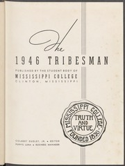 Page 3, 1946 Edition, Mississippi College - Tribesman Yearbook (Clinton, MS) online yearbook collection
