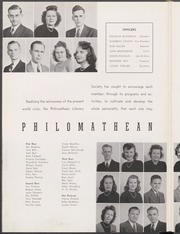 Page 112, 1947 Edition, Mississippi College - Tribesman Yearbook (Clinton, MS) online yearbook collection