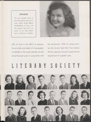 Page 113, 1947 Edition, Mississippi College - Tribesman Yearbook (Clinton, MS) online yearbook collection