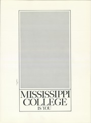 Page 5, 1967 Edition, Mississippi College - Tribesman Yearbook (Clinton, MS) online yearbook collection