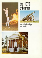 Page 9, 1970 Edition, Mississippi College - Tribesman Yearbook (Clinton, MS) online yearbook collection