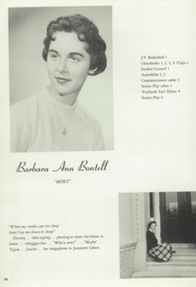 Page 12, 1958 Edition, Lenox Memorial High School - Xonel Yearbook (Lenox, MA) online yearbook collection