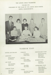 Page 6, 1958 Edition, Lenox Memorial High School - Xonel Yearbook (Lenox, MA) online yearbook collection