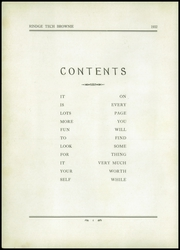 Page 8, 1932 Edition, Rindge Technical School - Brownie Yearbook (Cambridge, MA) online yearbook collection