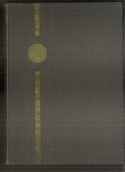 1936 Edition, Rindge Technical School - Brownie Yearbook (Cambridge, MA)