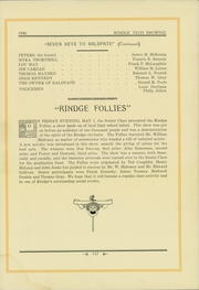 Page 121, 1936 Edition, Rindge Technical School - Brownie Yearbook (Cambridge, MA) online yearbook collection