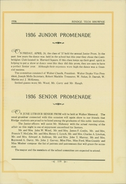 Page 123, 1936 Edition, Rindge Technical School - Brownie Yearbook (Cambridge, MA) online yearbook collection