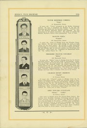 Page 36, 1936 Edition, Rindge Technical School - Brownie Yearbook (Cambridge, MA) online yearbook collection