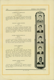 Page 39, 1936 Edition, Rindge Technical School - Brownie Yearbook (Cambridge, MA) online yearbook collection