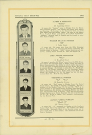 Page 42, 1936 Edition, Rindge Technical School - Brownie Yearbook (Cambridge, MA) online yearbook collection