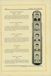 Page 47, 1936 Edition, Rindge Technical School - Brownie Yearbook (Cambridge, MA) online yearbook collection