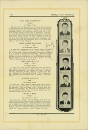 Page 49, 1936 Edition, Rindge Technical School - Brownie Yearbook (Cambridge, MA) online yearbook collection