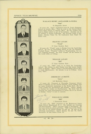 Page 50, 1936 Edition, Rindge Technical School - Brownie Yearbook (Cambridge, MA) online yearbook collection