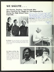 Page 8, 1982 Edition, Hamilton Wenham Regional High School - Salute Yearbook (South Hamilton, MA) online yearbook collection