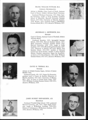 Page 16, 1952 Edition, Williston Northampton School - Log Yearbook (Easthampton, MA) online yearbook collection