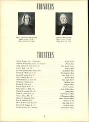 Page 12, 1956 Edition, Williston Northampton School - Log Yearbook (Easthampton, MA) online yearbook collection