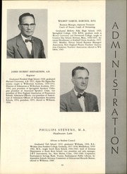 Page 15, 1956 Edition, Williston Northampton School - Log Yearbook (Easthampton, MA) online yearbook collection