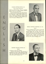 Page 16, 1956 Edition, Williston Northampton School - Log Yearbook (Easthampton, MA) online yearbook collection
