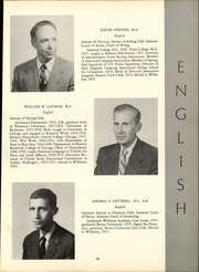 Page 17, 1956 Edition, Williston Northampton School - Log Yearbook (Easthampton, MA) online yearbook collection