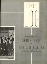 Page 7, 1956 Edition, Williston Northampton School - Log Yearbook (Easthampton, MA) online yearbook collection