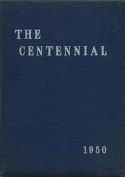 1950 Edition, Memorial High School - Orange Peal Yearbook (Middleborough, MA)