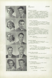 Page 10, 1950 Edition, Memorial High School - Orange Peal Yearbook (Middleborough, MA) online yearbook collection