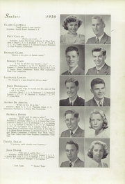 Page 11, 1950 Edition, Memorial High School - Orange Peal Yearbook (Middleborough, MA) online yearbook collection