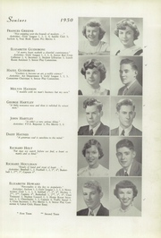 Page 13, 1950 Edition, Memorial High School - Orange Peal Yearbook (Middleborough, MA) online yearbook collection