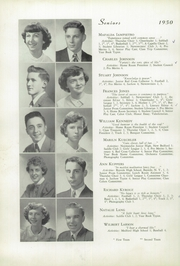Page 14, 1950 Edition, Memorial High School - Orange Peal Yearbook (Middleborough, MA) online yearbook collection